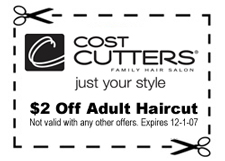 picture relating to Cost Cutters Printable Coupons named 日記: (546) dilber